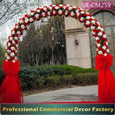 arch decoration custom u shape foldable wedding flower arch decoration stock buy