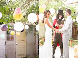 themed weddings backyard carnival themed wedding ruffled