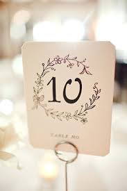 diy table number holders table number watercolor and calligraphy table number cards table