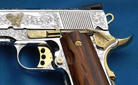 gold inlay engraving engraving services smith wesson