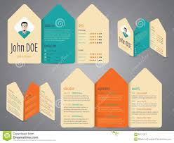 Colorful Resume Templates Free Flyer Design Cv Resume Template Stock Vector Image 63717977