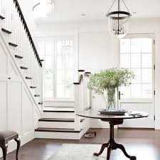 Marble Entry Table Entrances Foyers White Round Marble Top Pedestal Foyer Table