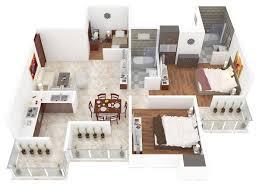 3d house plans in 1200 sq ft modern soiaya