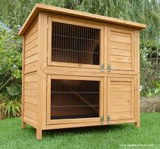 Heavy Duty Rabbit Hutch Double Rabbit Hutch Rabbit Hutch World