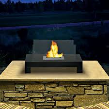 Ethanol Fire Pit by Gramercy Indoor Outdoor Bio Ethanol Fireplace 90296