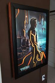 lighted movie poster frame movie poster frames for any size movie poster
