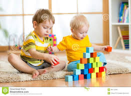 kids playing in children room stock photo image 48775469