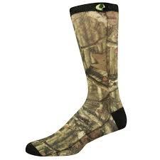 oak sublimated crew camo sock