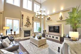 Decorating Ideas For Living Rooms With High Ceilings by Living Room Curtains For High Ceilings Ideas Contemporary Villa