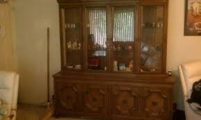 Drexel Heritage China Cabinet Drexel Heritage China Cabinet And Buffet Cart Antique