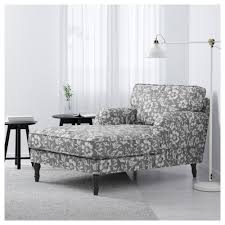 Ikea Chaise Lounge Sofa by Stocksund Chaise Longue Hovsten Grey White Black Wood Ikea