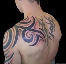 flower tattoo designs black tribal tattoo motive white background