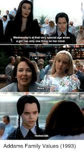Wednesday Addams Meme - 25 best memes about addams family values addams family values