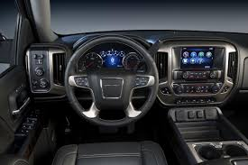 new jeep truck interior 2015 gmc sierra elevation and carbon editions bring top flight