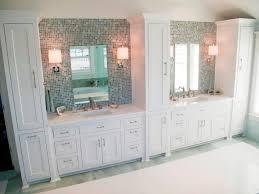 bathroom tall linen cabinet for a contemporary bathroom laluz