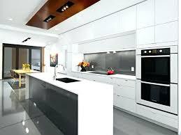cuisine minimaliste design cuisine contemporaine blanche comment cr