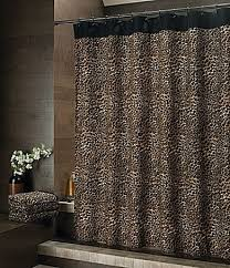 Animal Shower Curtain Animal Print Shower Curtain Foter