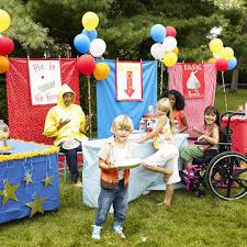 How To Throw A Backyard Party Carnival Party Host A Backyard Carnival Bash