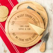 engraved cheese board gifts for him ideas personalised engraved s cheese board set