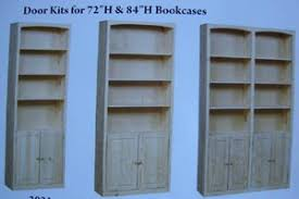 Unfinished Bookcases With Doors Unfinished Deep Bookcase Azontreasures Com