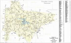 Tennessee Map Of Cities by City And County Maps Trousdale County