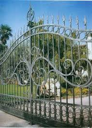 metal picket fence panels gates driveway gates electric