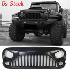 jeep wrangler front grill upgrade angry bird front grill grille for jeep wrangler 07 18 jk