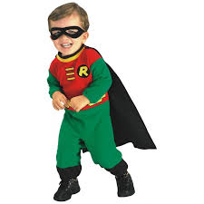 Halloween Costumes Toddler Boys Amazon Rubie U0027s Costume Baby Boy U0027s Teen Titans Robin Romper