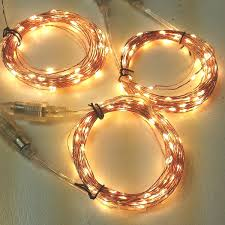 300 to 900 led copper wire lights