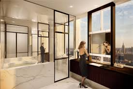 master bathroom at one57 new york ny places pinterest