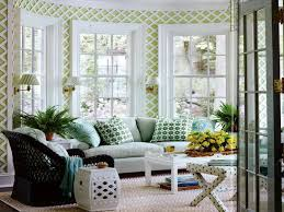 Simple Sunroom Designs Sunroom Color Ideas With Sofa And Cushion And Carpets Living