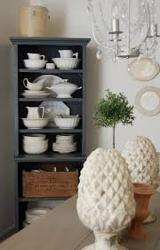 frog goes to market china cabinet makeover