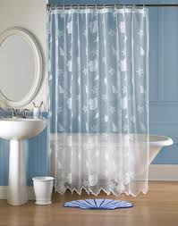 Seashell Curtains Bathroom 35 Best Beach Theme Images On Pinterest Beach Themes Shower
