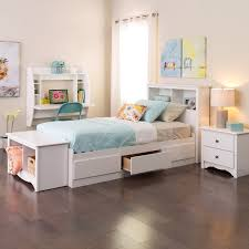 twin bed frame with drawers and headboard winslow white twin bookcase headboard free shipping today