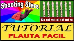 shooting stars meme en flauta dulce con notas explicadas youtube