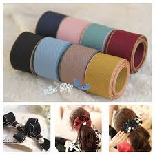 wide satin ribbon high quality 8yars satin grosgrain ribbons hairbows ribbon