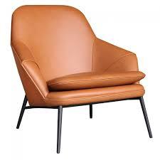 Leather Lounge Chair Hug Leather Lounge Chair By Wendelbo Clickon Furniture