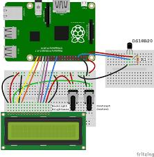 raspberry pi ds18b20 temperature sensor tutorial circuit basics