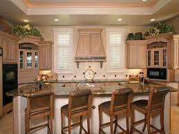 gourmet kitchen island gourmet kitchen with white glazed center island traditional