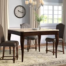 square kitchen dining tables you love wayfair swenson counter height dining table