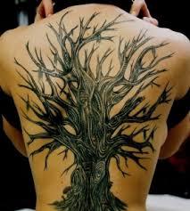 oak tree back tattoomagz