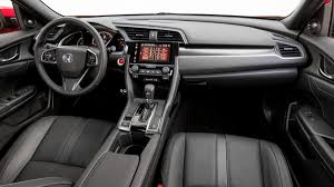 inside of a honda civic 2017 honda civic hatchback review with price horsepower and photo