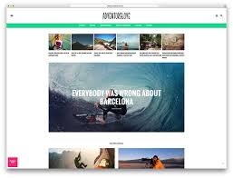 video blog wordpress themes