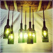 Wine Bottle Chandeliers with Chandeliers Home Design Gallery