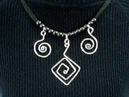 necklace making charms images Diy wire scroll charms or pendants for necklaces bracelets jpg