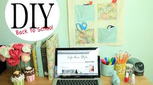 Office Wall Organizer Ideas Diy Wall Organizer U0026 Desk Accessories Back To School Ideas By