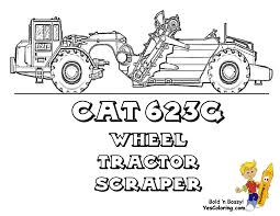 kids construction equipment coloring pages