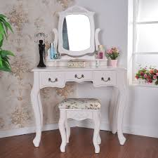 ikea malm vanity makeup table white wooden mirror vanity table