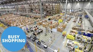 amazon 50 black friday tv sneak peak inside the amazon warehouse in the run up to christmas