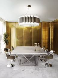 Modern Chandelier Dining Room by 30 Modern Dining Rooms With Magnificent Chandeliers